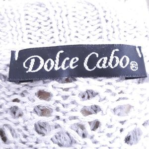 Dolce Cabo Sweaters - Dolce Cabo silver gray cardigan